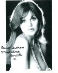 Madeline Smith - Vampire Lovers  HAMMER HORROR - Genuine Signed Autograph 10x8 COA 4274